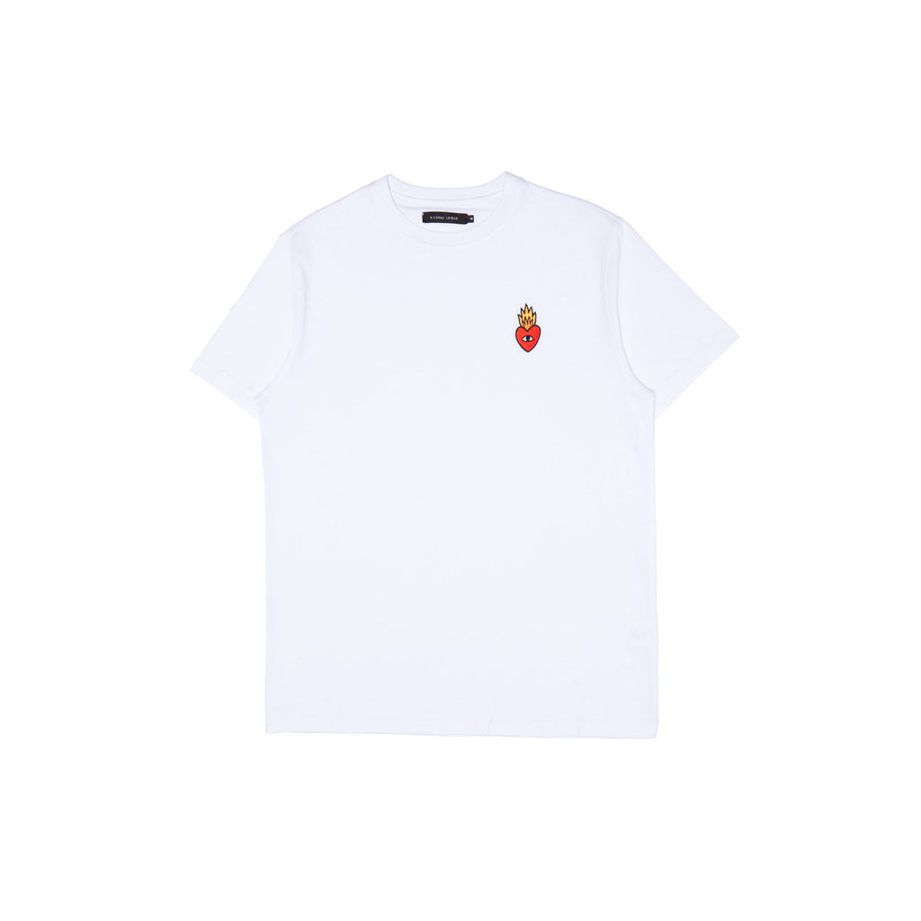 Flaming Heart logo T-shirt