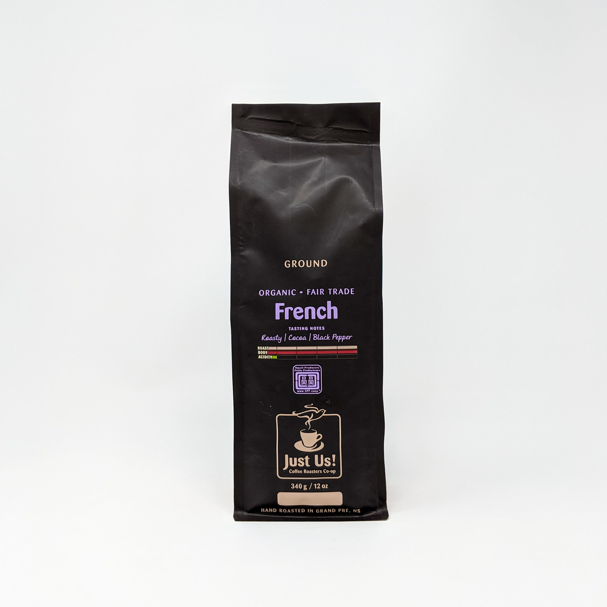 French Roast Coffee - Organic & Fair Trade - Just Us!