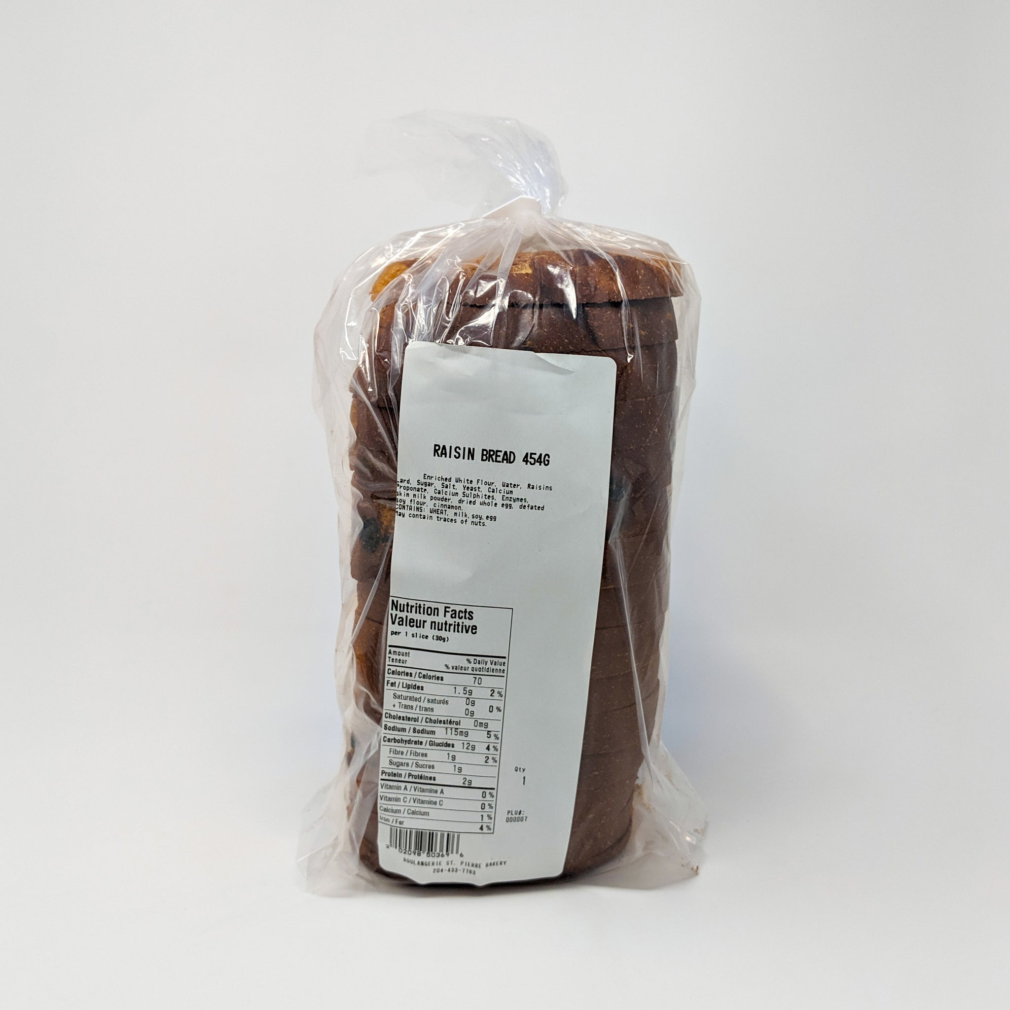 Raisin Bread (454g) - St-Pierre