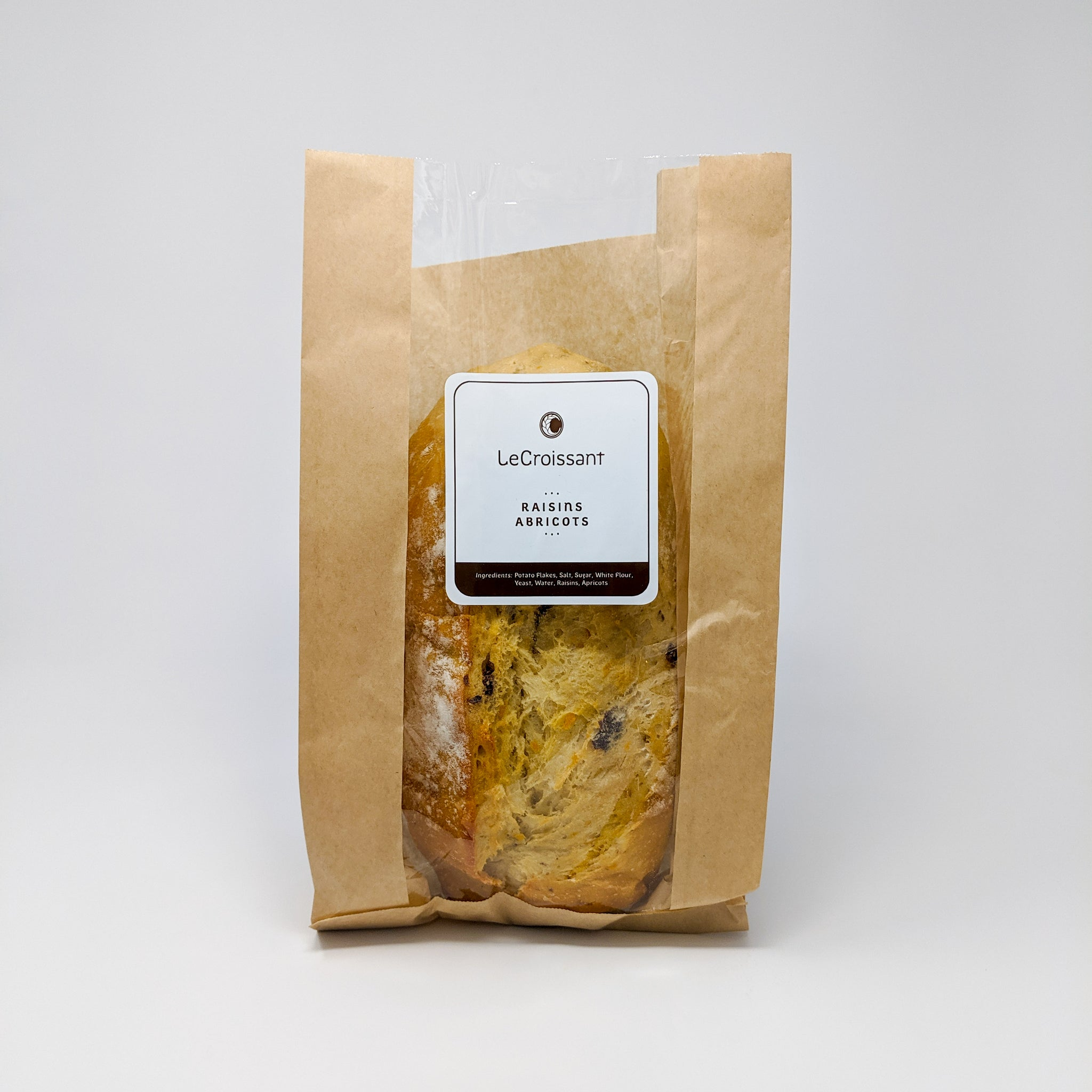 Apricot & Raisin Bread - Specialty Loaf - Le Croissant
