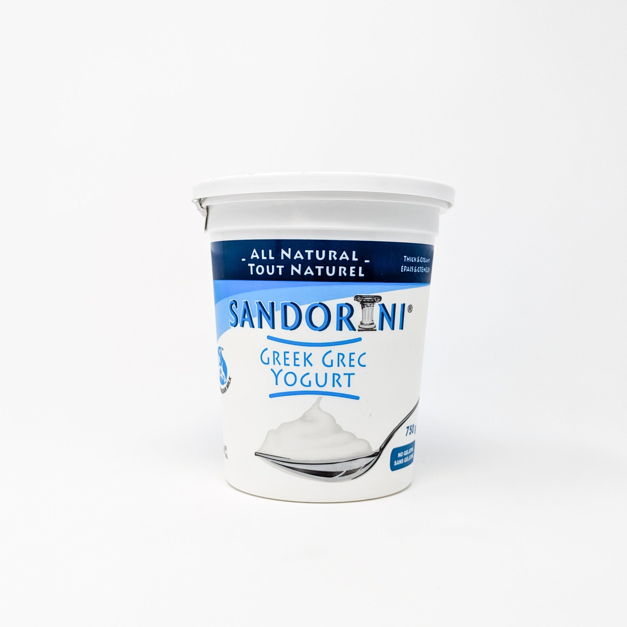 Vanilla Greek Yogurt (3.35%) - Santorini Dairies