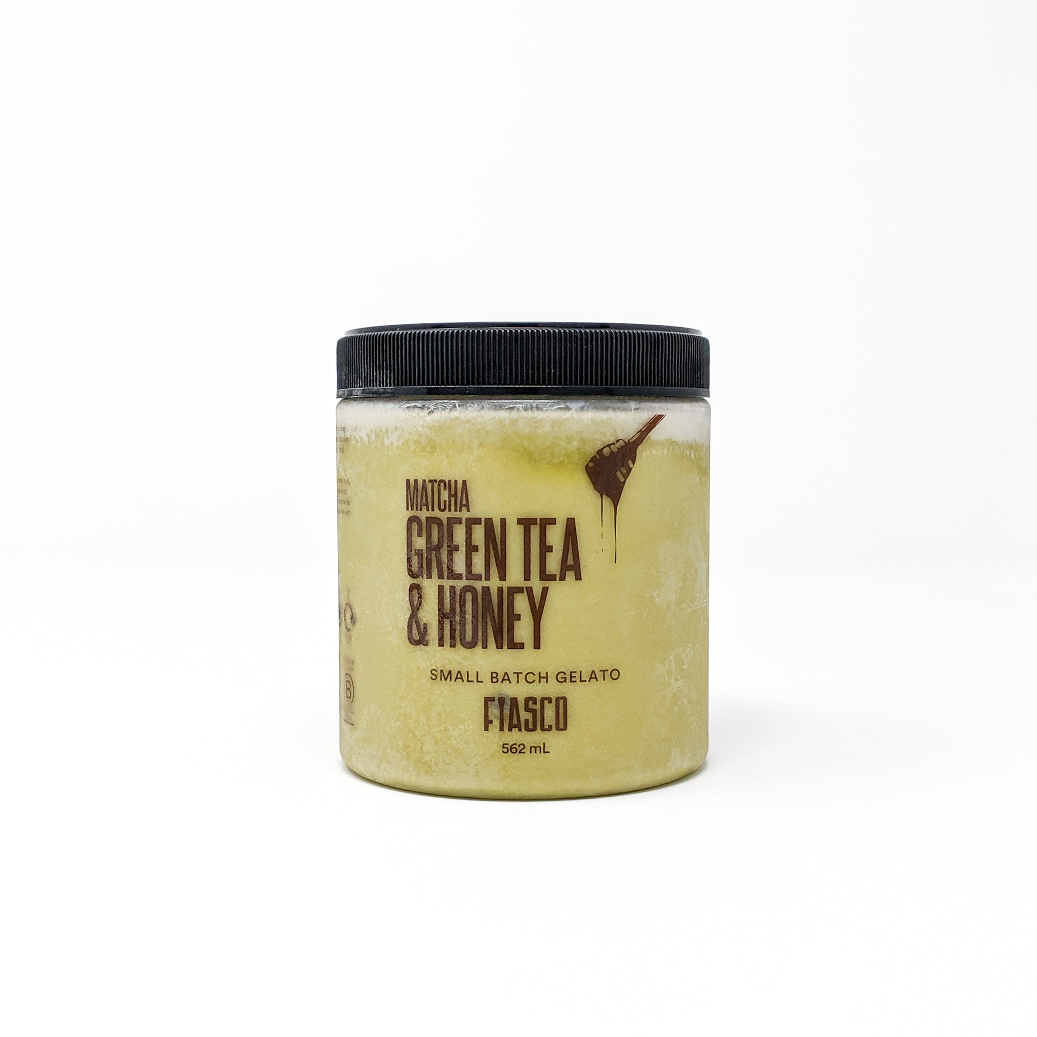 Matcha Green Tea & Honey Gelato 562ml - Fiasco