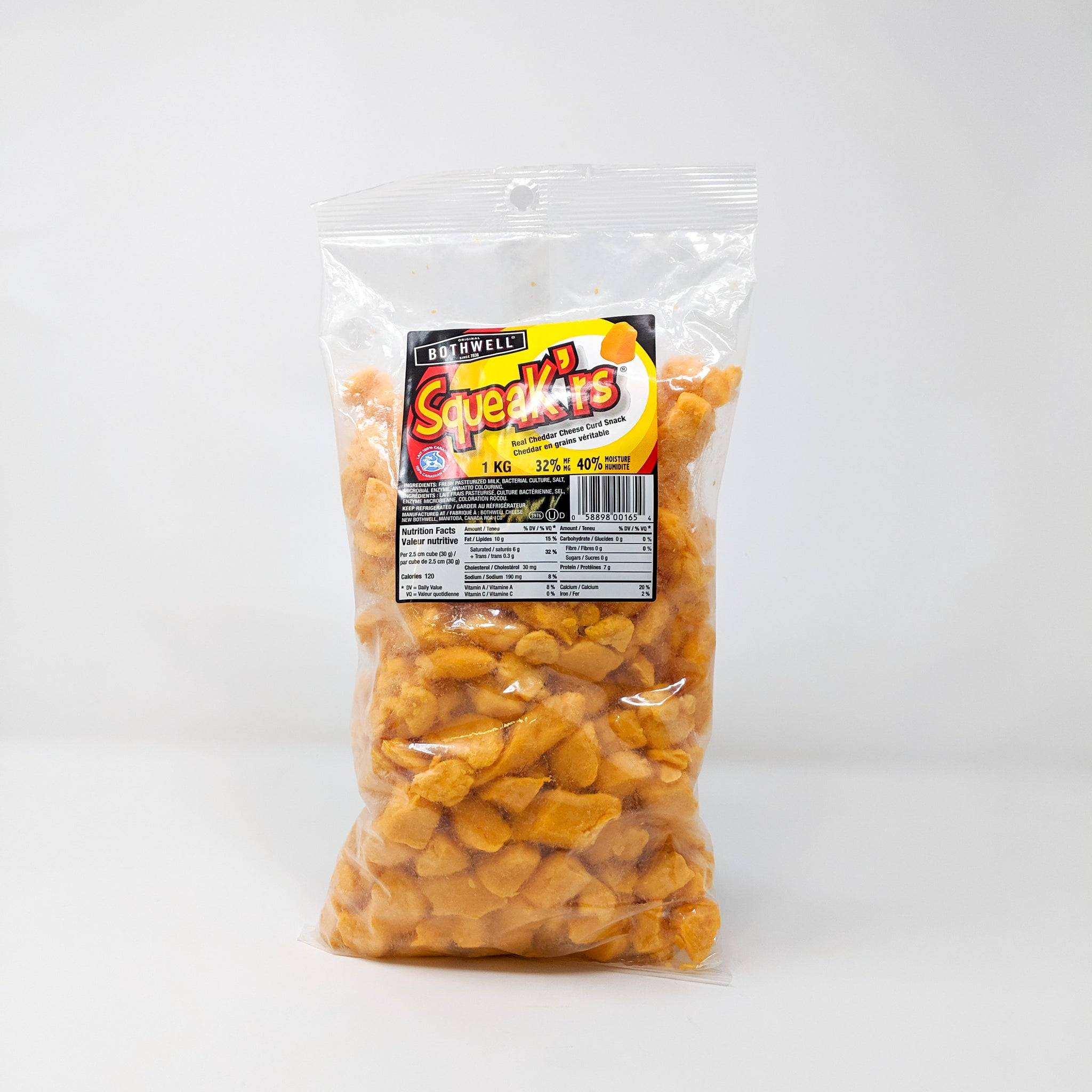 Cheese Curds Yellow 1kg - Bothwell Cheese