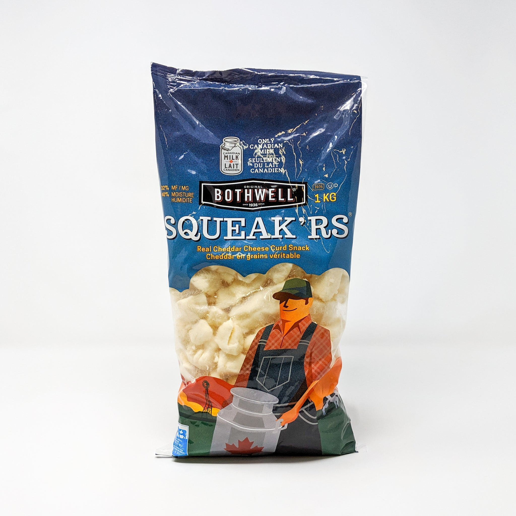 Cheese Curds White 1kg - Bothwell Cheese