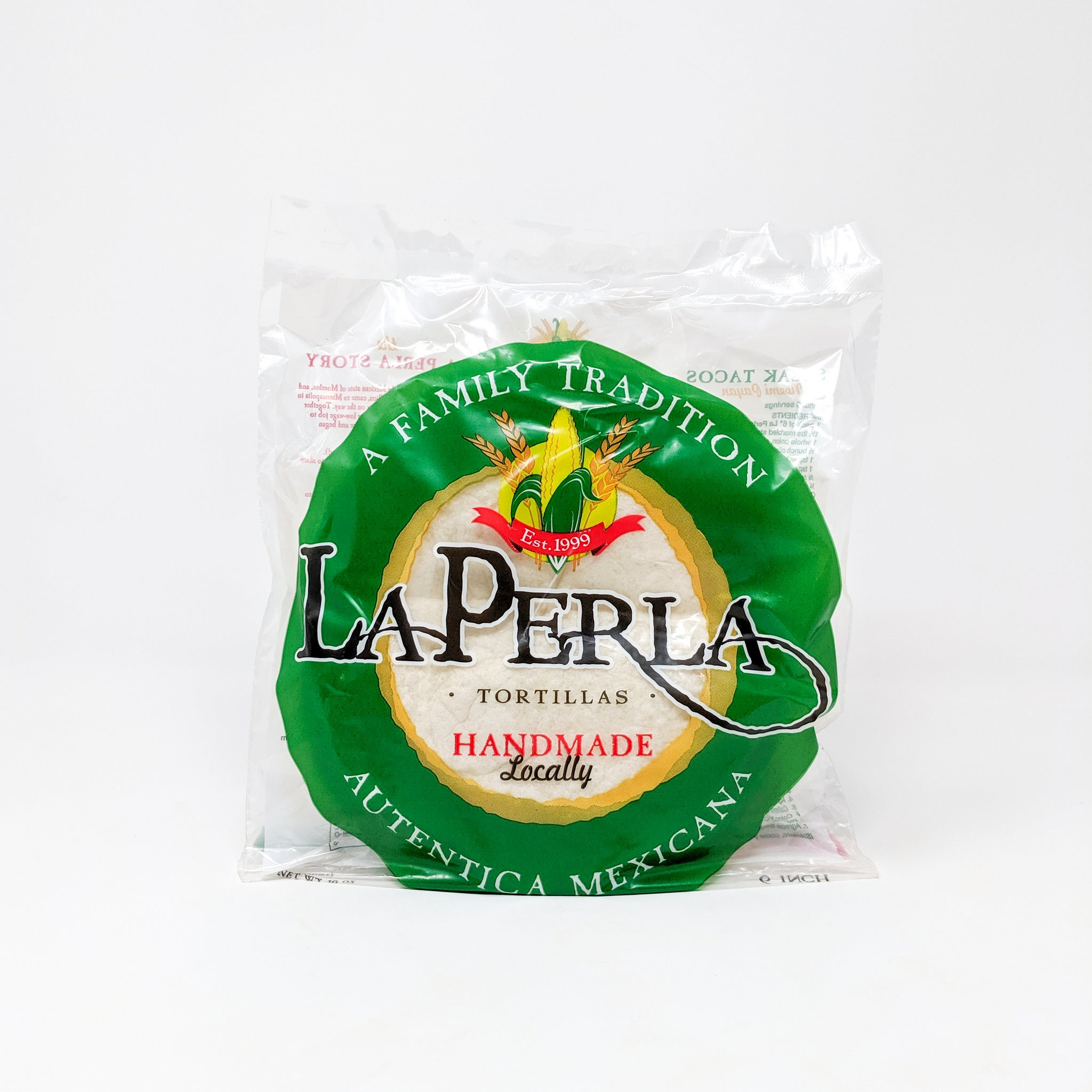 "Flour Tortillas 6"" - La Perla - Fresh"
