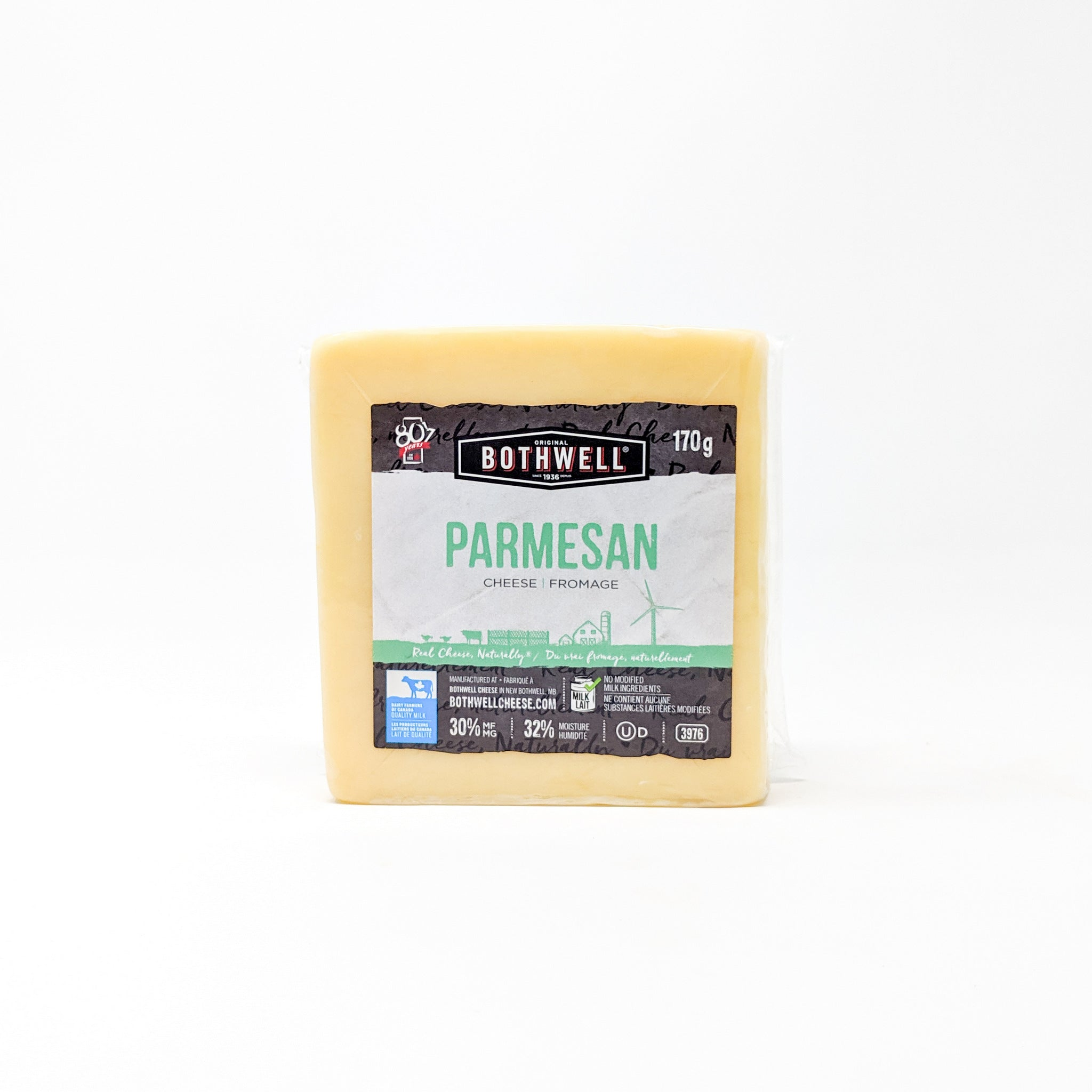 Parmesan 170g - Bothwell Cheese
