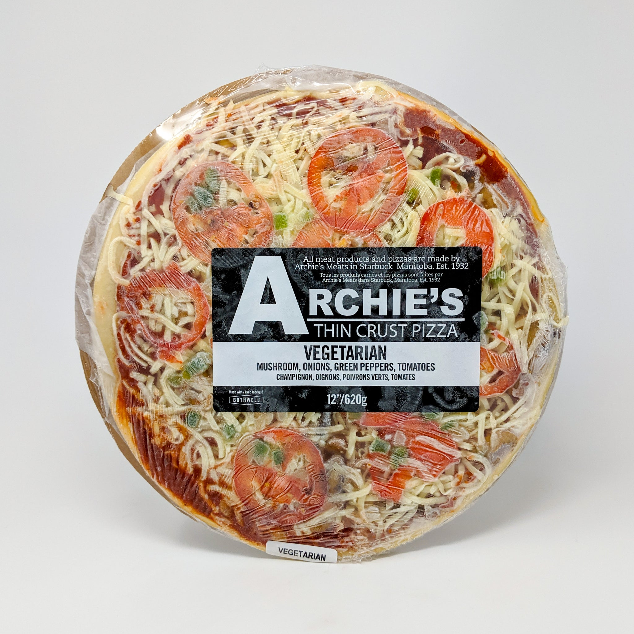 Archie's Vegetarian Pizza - Frozen