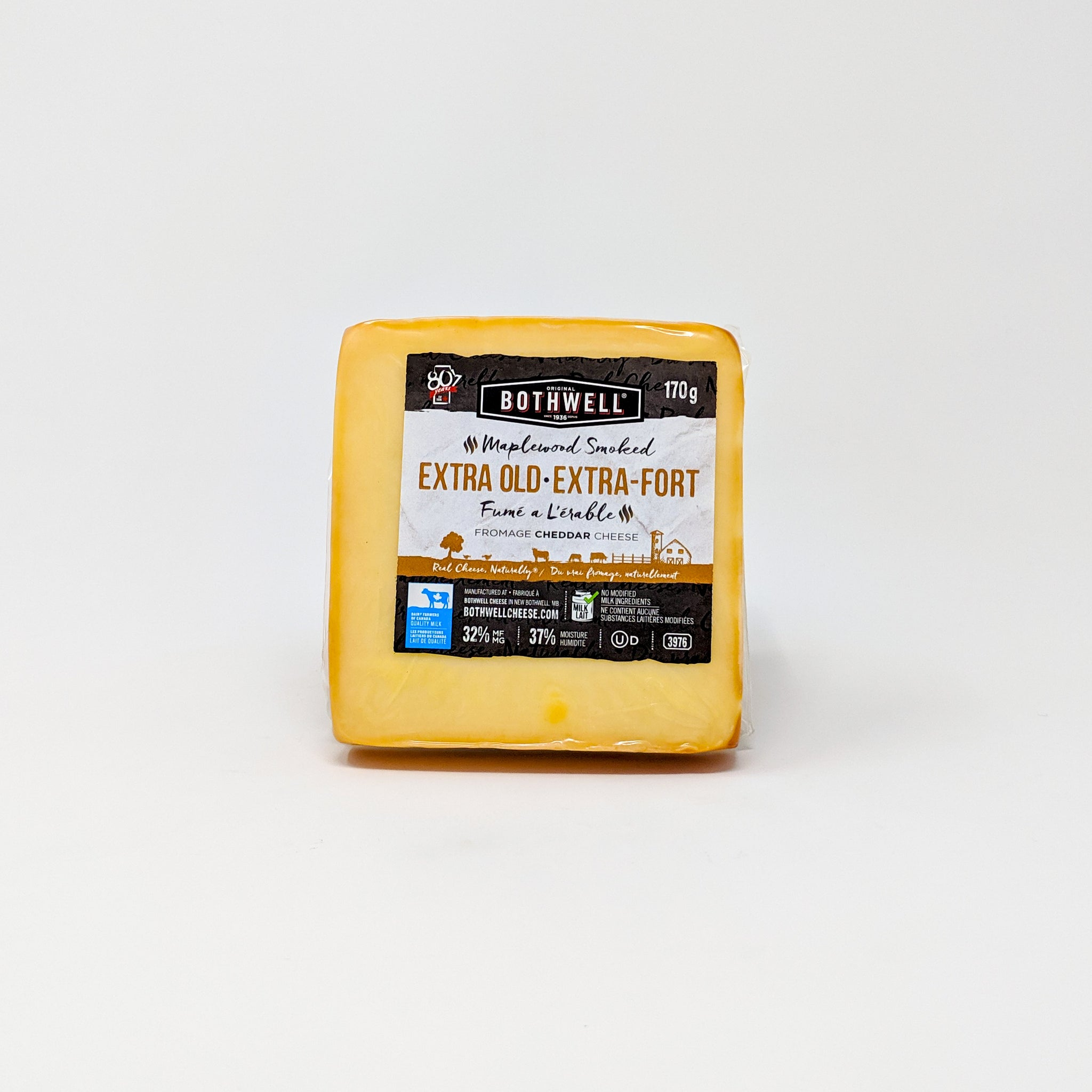 Extra Old Maple Cheddar 170g - Bothwell Cheese