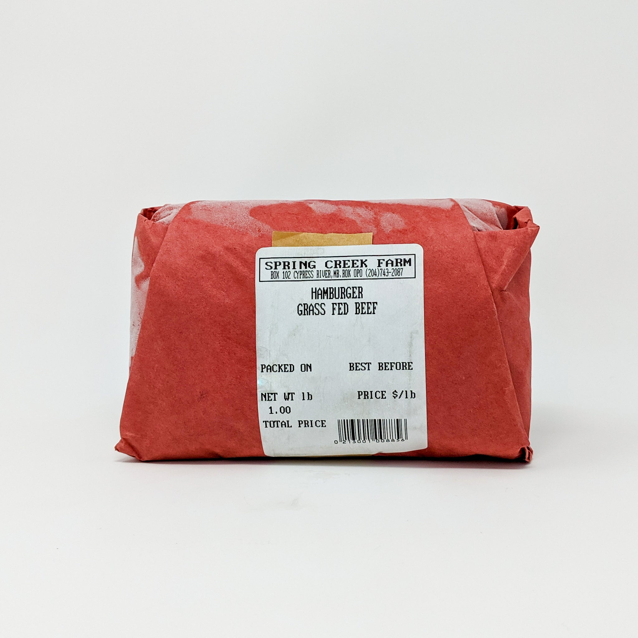 Ground Beef 1lb - Grass Fed - Frozen