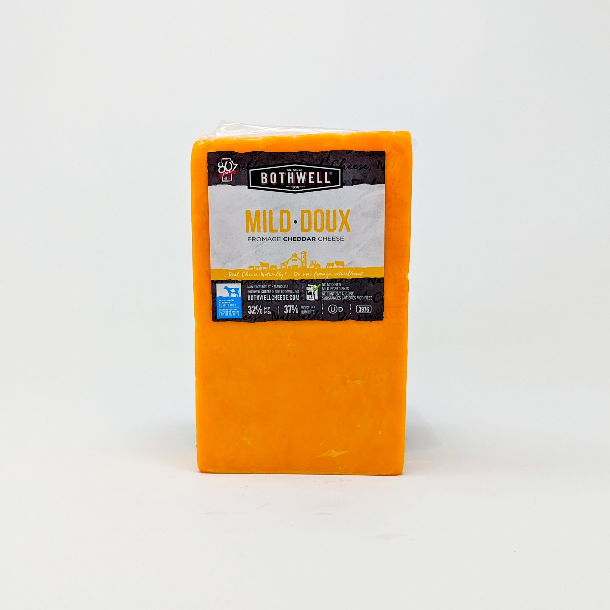 Mild Cheddar approx 540g - Bothwell Cheese