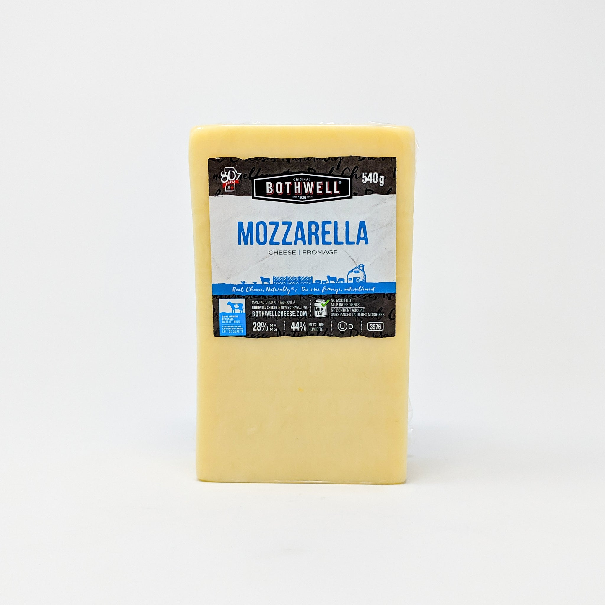 Mozzarella 540g - Bothwell Cheese