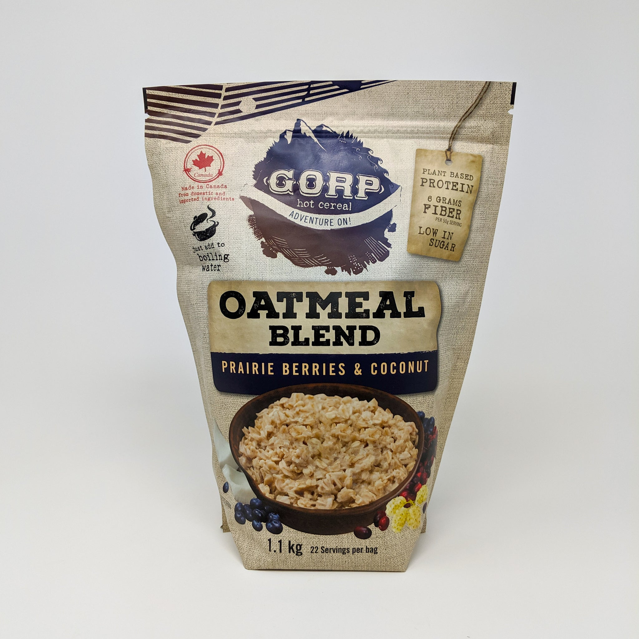 Oatmeal Blend - Prairie Berries and Coconut - GORP