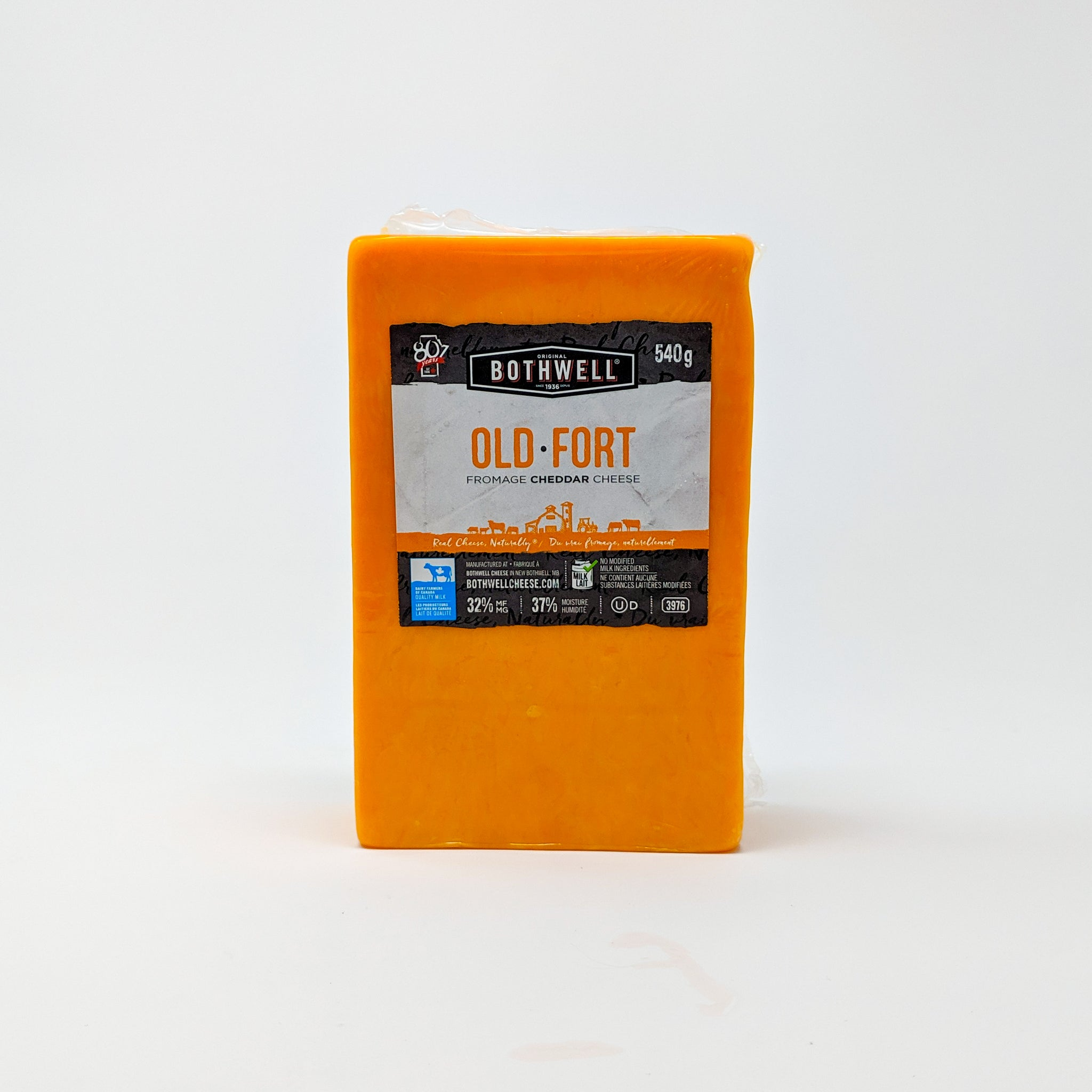 Old Cheddar 540g - Bothwell Cheese