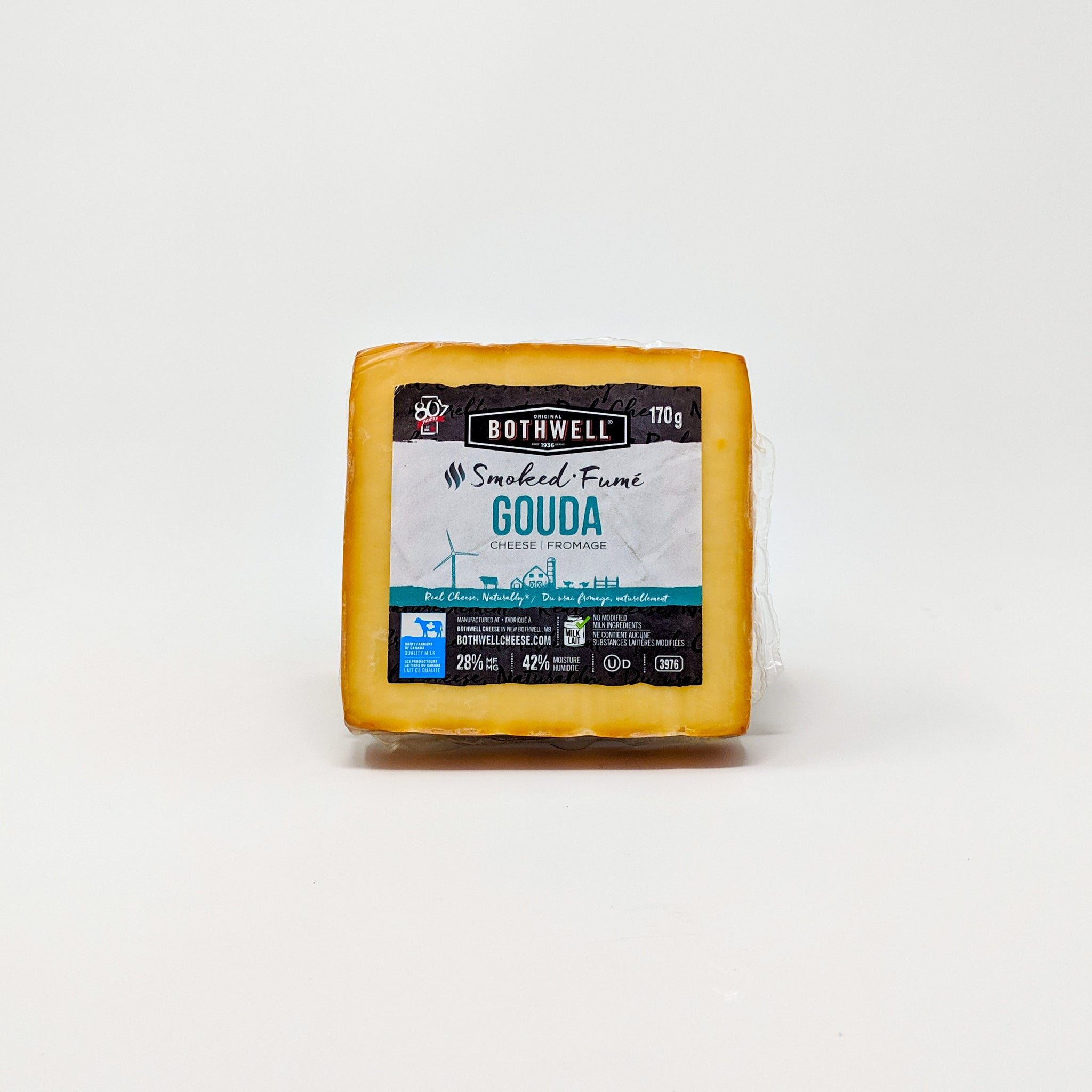 Smoked Gouda 170g - Bothwell Cheese