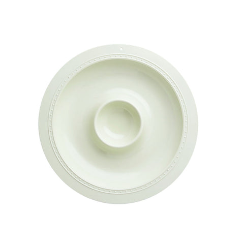 Melamine Serving Piece: Chip & Dip