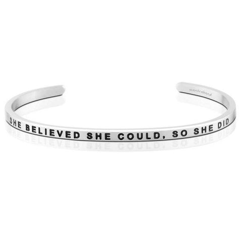 She Believed She Could, So She Did - Mantraband