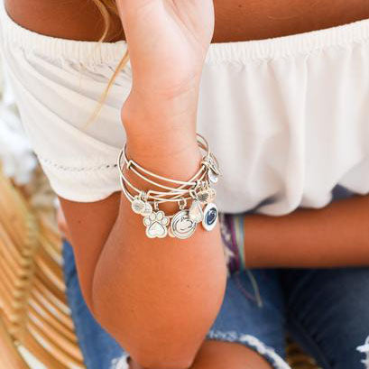 Alex and Ani Penn State Bracelet Collection