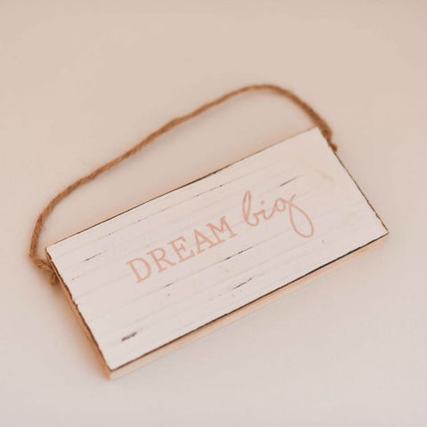 Dream Big Mini Baby Sign