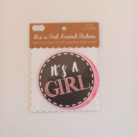 It's A Girl Milestone Stickers