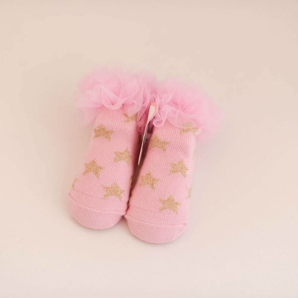 Ruffle Star Socks