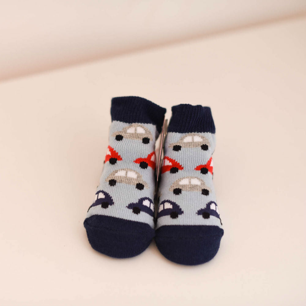 Baby Boy Car Socks