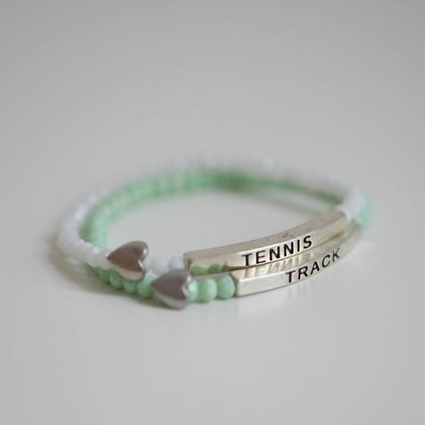 """Bee"" Bracelets Track and Tennis Bracelets"