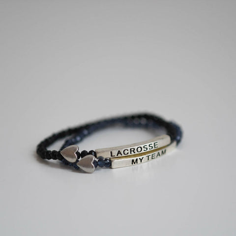"""Bee"" Bracelets Lacrosse and My Team"