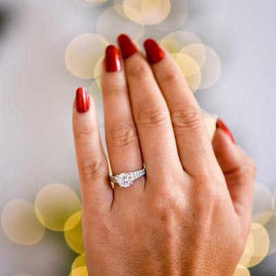 Breath-Taking Solitaire Ring