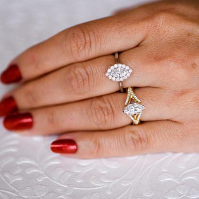 Glistening Marquise Ring