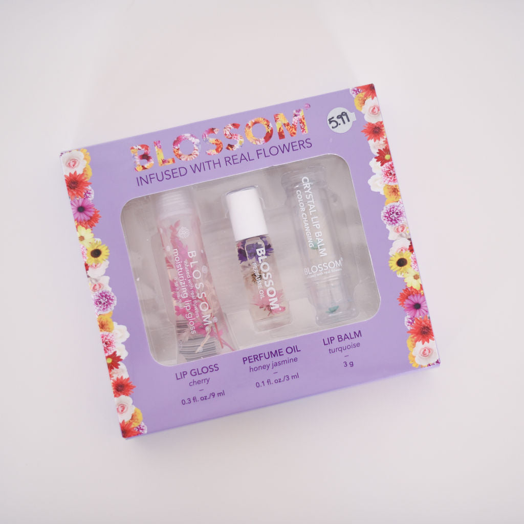 Blossom Kit Infused with Real Flowers