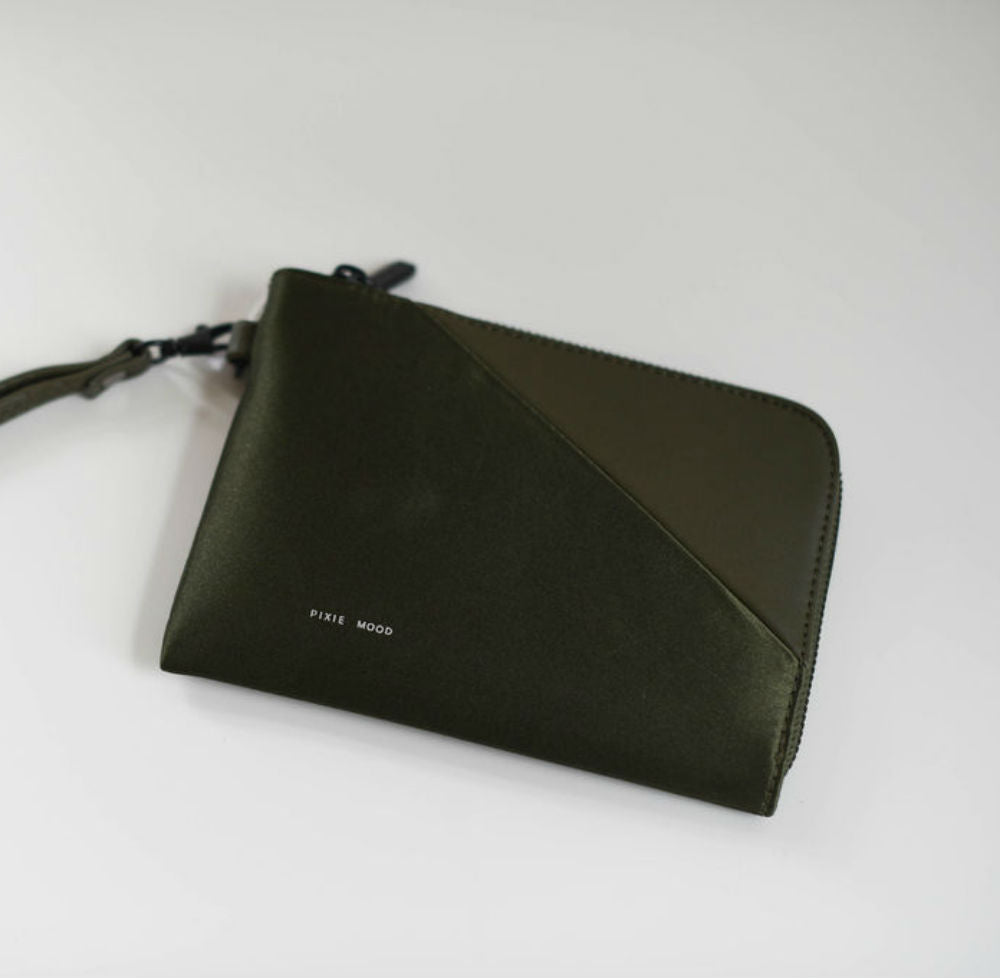 Stacy Wallet - Satin Olive