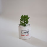 Succulent Teacher Gift