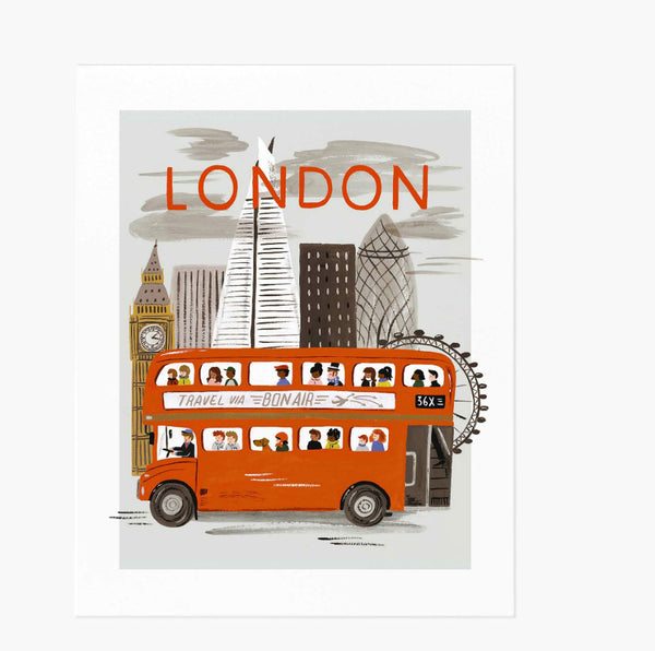 London World Traveler Art Print