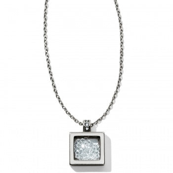 Silver Meridian Zenith Shaker Necklace