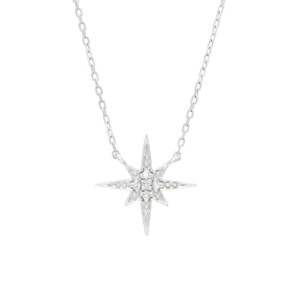 """Star"" Diamond Necklace"