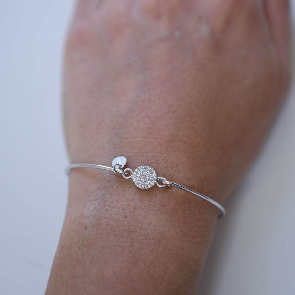 Pave Sparkle Bangle