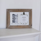 Mr. & Mrs. Invitation Frame
