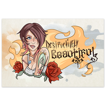 Destructively Beautiful - 12x18 Print - [product_vender] - Corvink