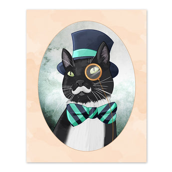 Sir Charles the Aristocat - 8x10 Cat Print