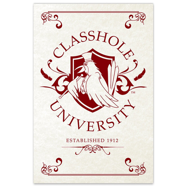 Classhole University - 12x18 Print - [product_vender] - Corvink