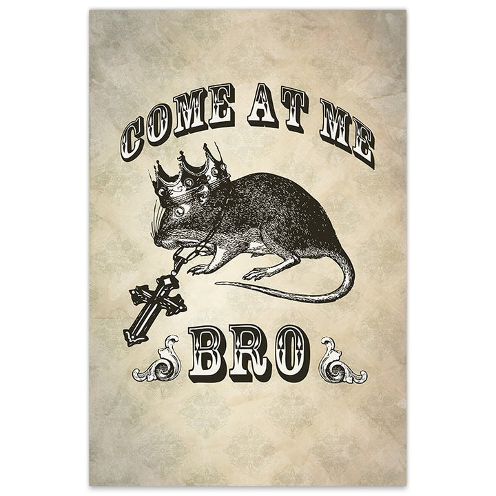 Come At Me Bro - 12x18 Print - [product_vender] - Corvink