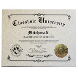 Classhole University BS Diplomas - [product_vender] - Corvink