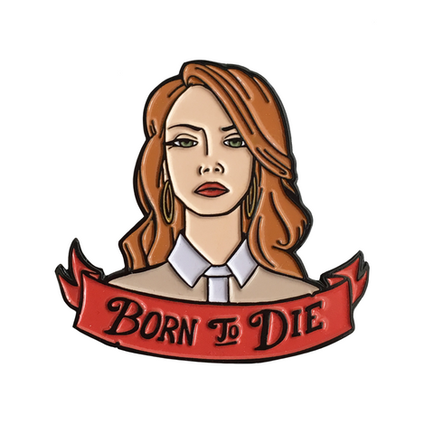 Born To Die - Lana Del Rey Inspired - LTD Soft Enamel Pin (OOP)