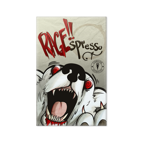 "RAGE!!spresso Coffee Cafe - 2""x3"" Magnet"