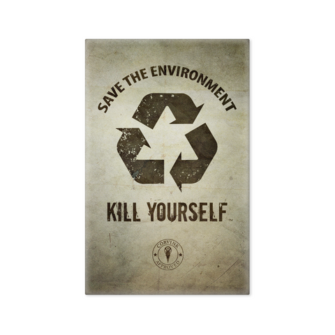 "Save the Environment, KYS - 2""x3"" Magnet"