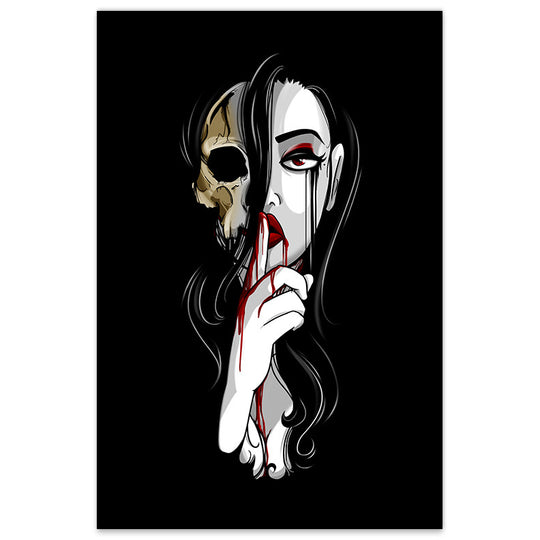 Death is Silent - 20x30 Poster - [product_vender] - Corvink