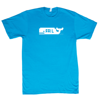 FAIL Whale - LTD Teal - Unisex Shirt [I]