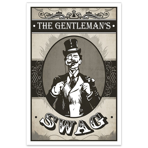 The Gentleman's Swag - 8x12 Print - [product_vender] - Corvink