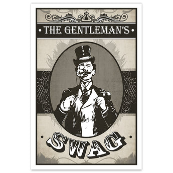 The Gentleman's Swag - 12x18 Print - [product_vender] - Corvink