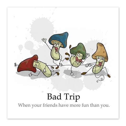 Bad Trip - 8x8 Print - by Denis Caron - [product_vender] - Corvink